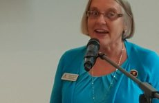Sharon Langenbeck, District Conference Erfurt